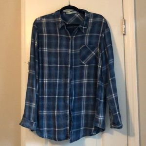 Maurice's plaid top